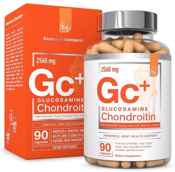Gc Glucosamine and Chondroitin supplement by Essential Elements